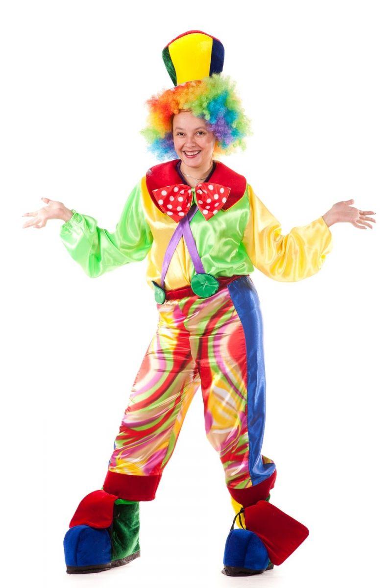 Масочка - «Клоун» карнавальный костюм для взрослых / фото №681