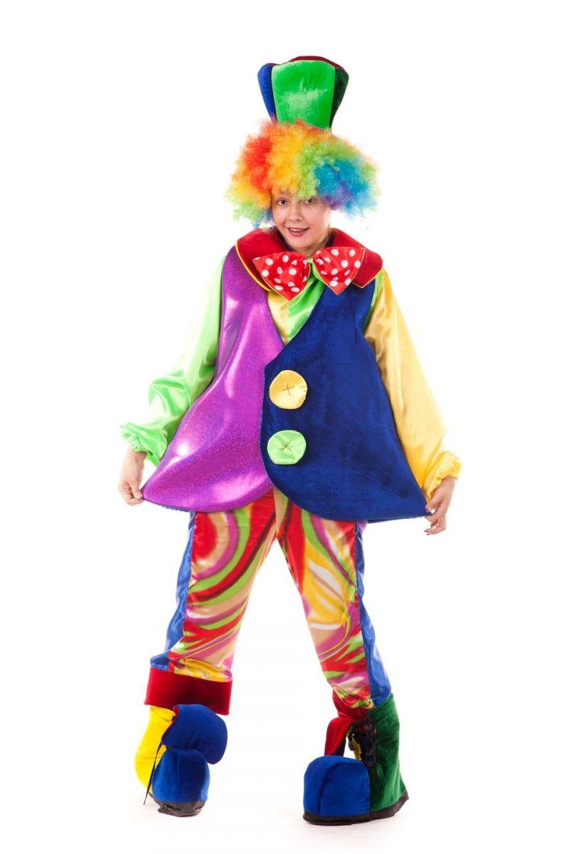 Масочка - «Клоун» карнавальный костюм для взрослых / фото №682