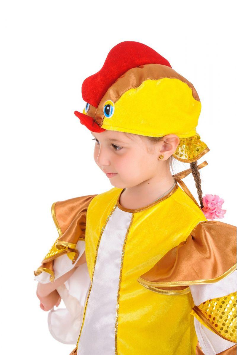 Масочка - «Курочка» карнавальный костюм для девочки / фото №688
