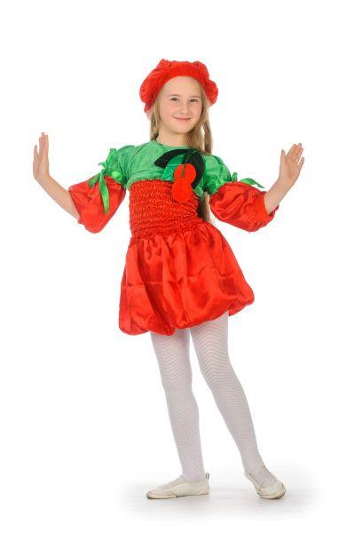 «Вишня» карнавальный костюм для девочки