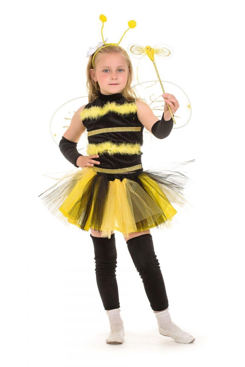 Масочка - «Пчелка в пачке» карнавальный костюм для девочки / фото №698