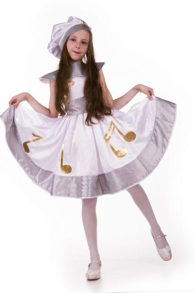 «Музыка» карнавальный костюм для девочки