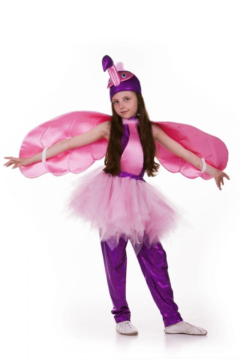 Масочка - «Фламинго» карнавальный костюм для девочки / фото №761