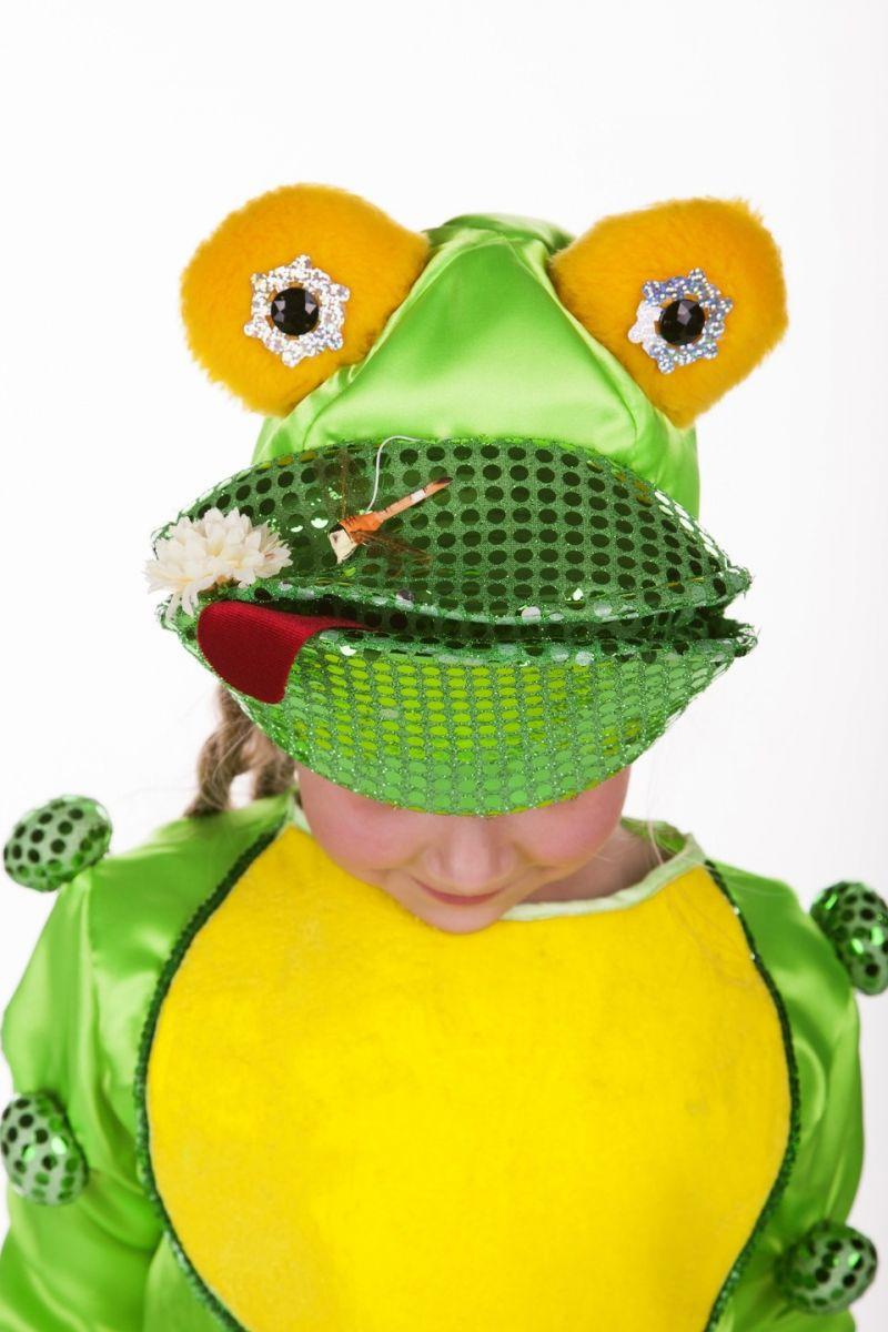Масочка - «Лягушка» карнавальный костюм для детей / фото №764