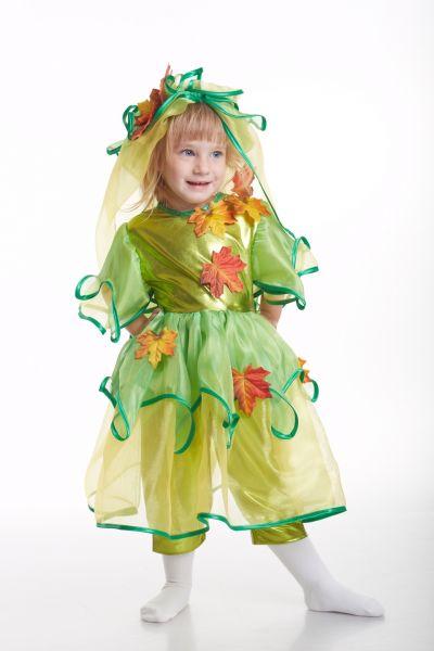 «Осенний лист» карнавальный костюм для девочки