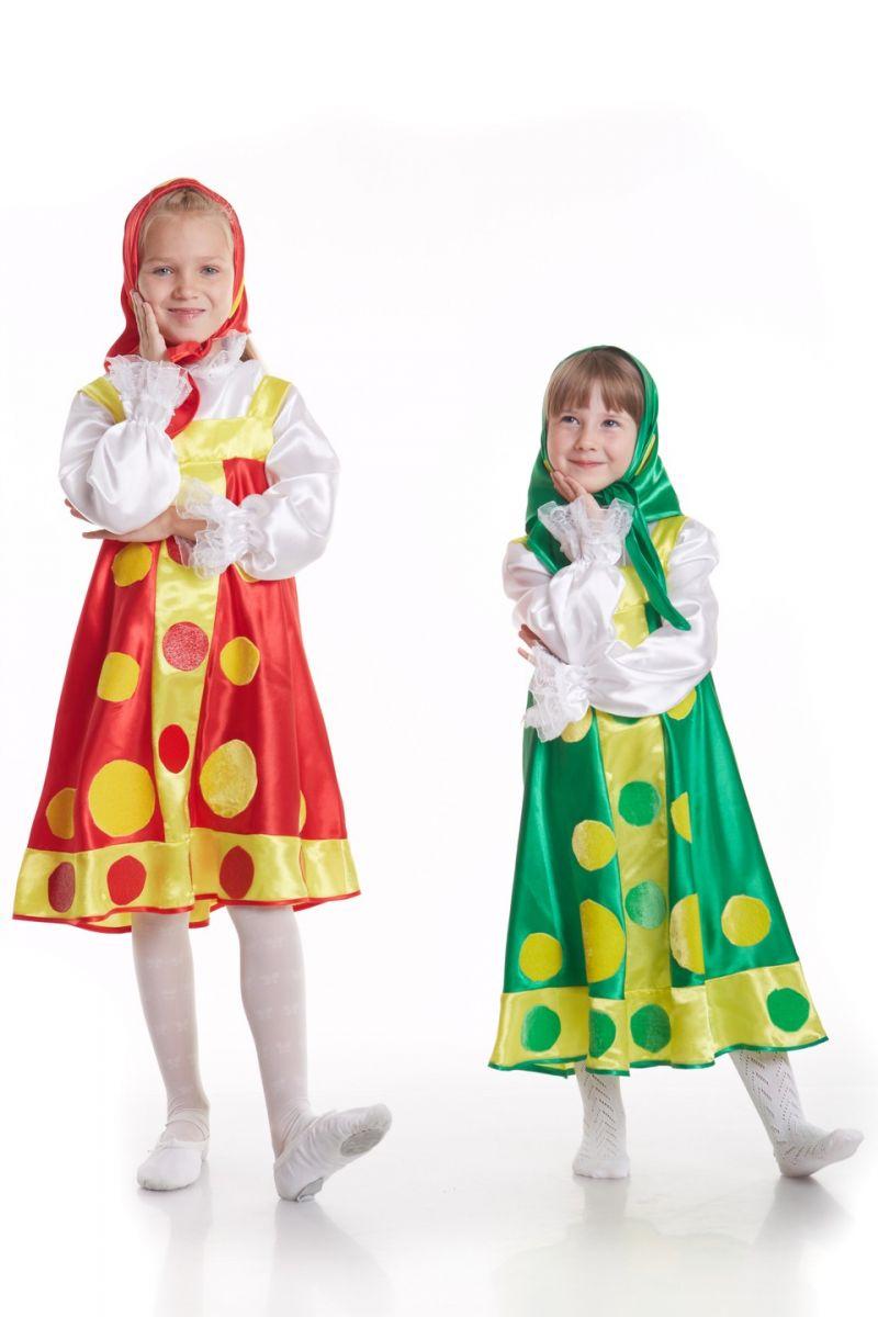 Масочка - «Матрешка» Карнавальный костюм для девочки / фото №769