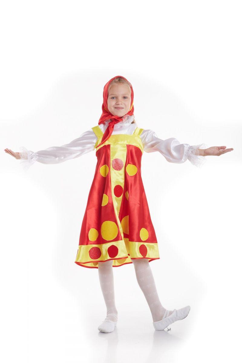 Масочка - «Матрешка» Карнавальный костюм для девочки / фото №770