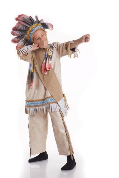 «Индеец» национальный костюм для мальчика