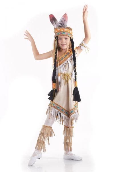 «Индианка» национальный костюм для девочки