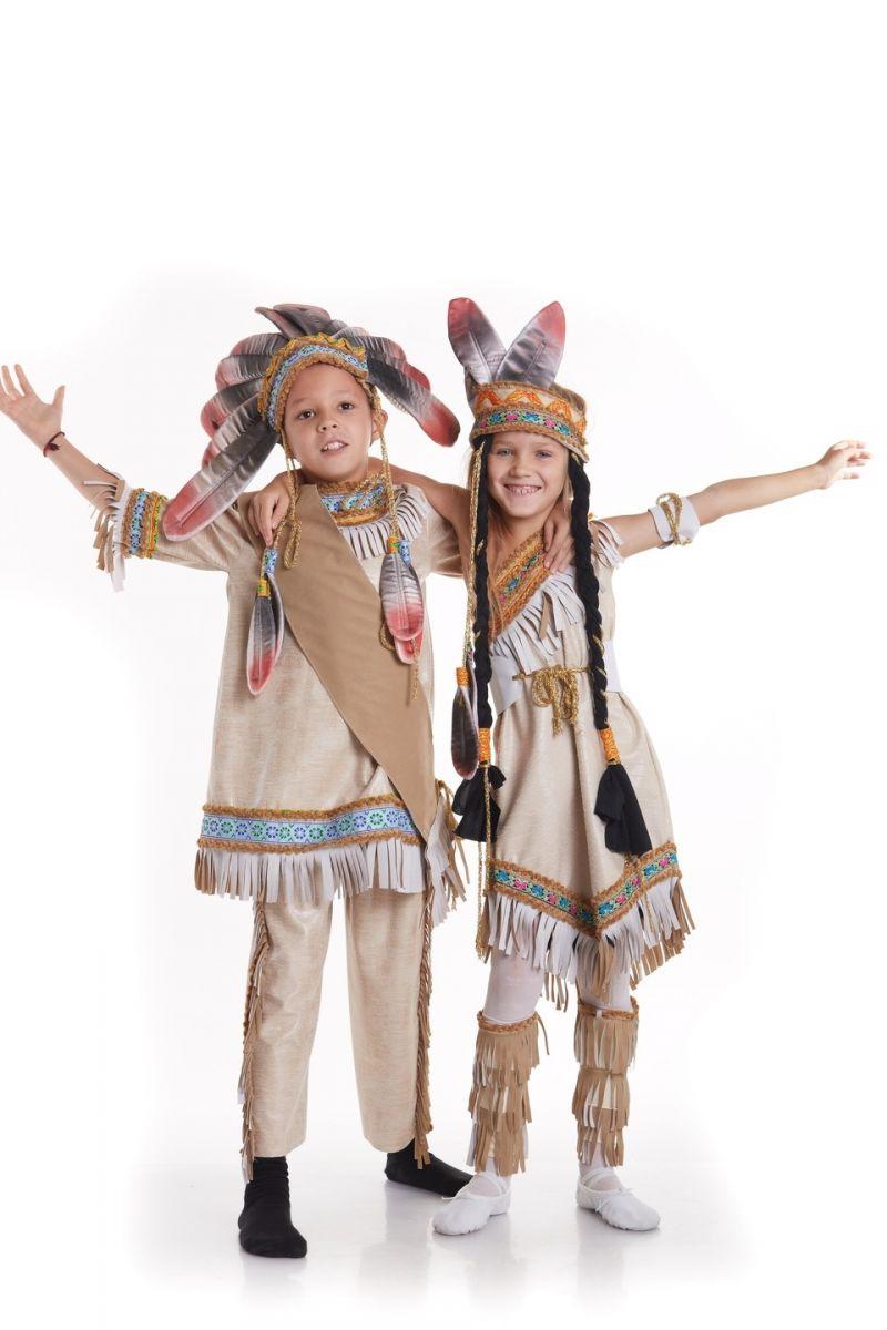 Масочка - «Индианка» национальный костюм для девочки / фото №783