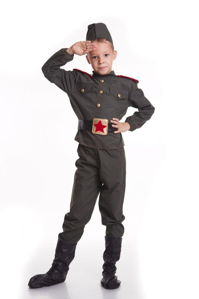 «Военный» карнавальный костюм для мальчика