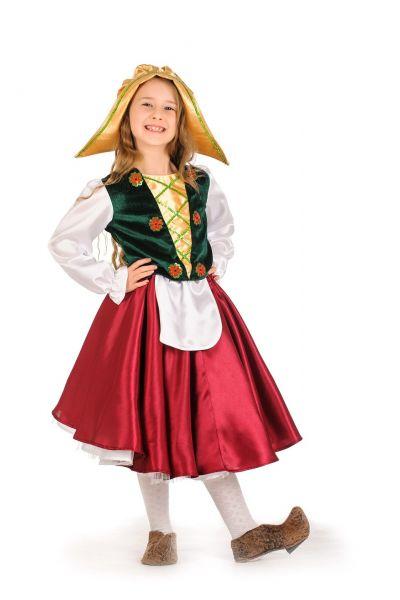 «Герда» карнавальный костюм для девочки