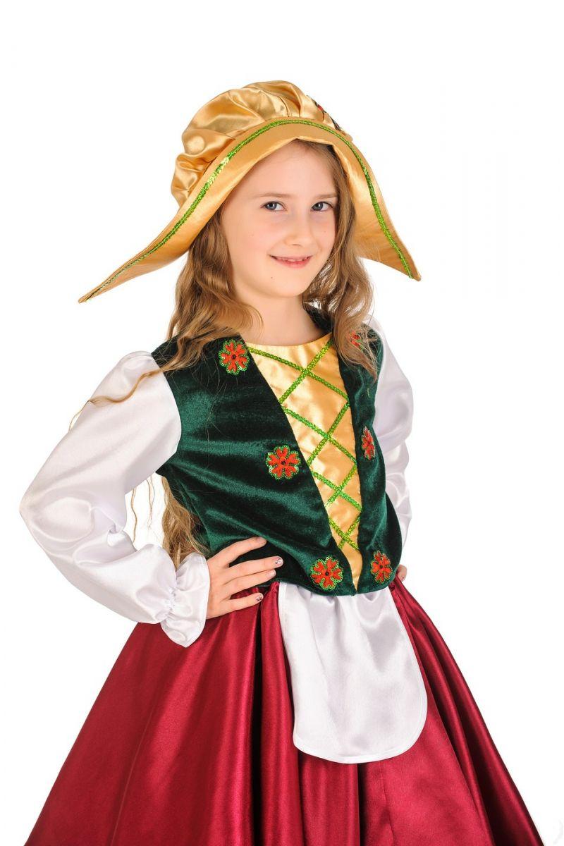 Масочка - «Герда» карнавальный костюм для девочки / фото №796