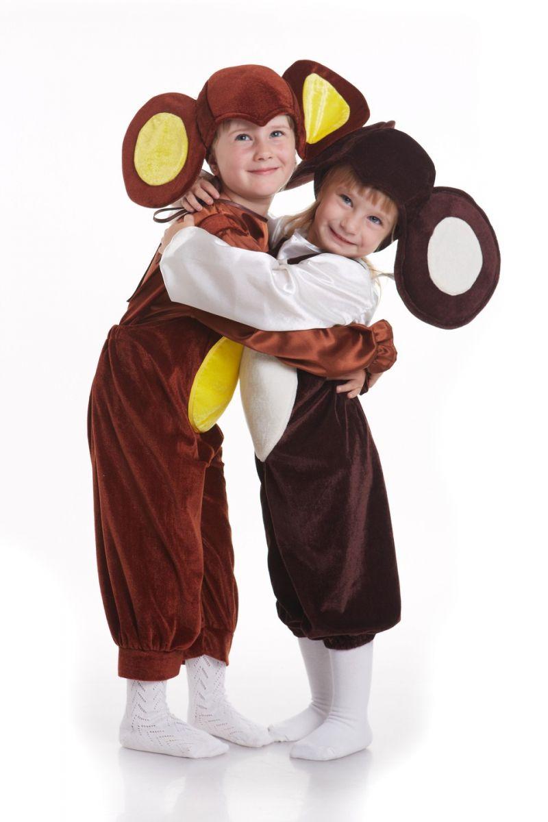 Масочка - «Чебурашка» карнавальный костюм для мальчика / фото №798