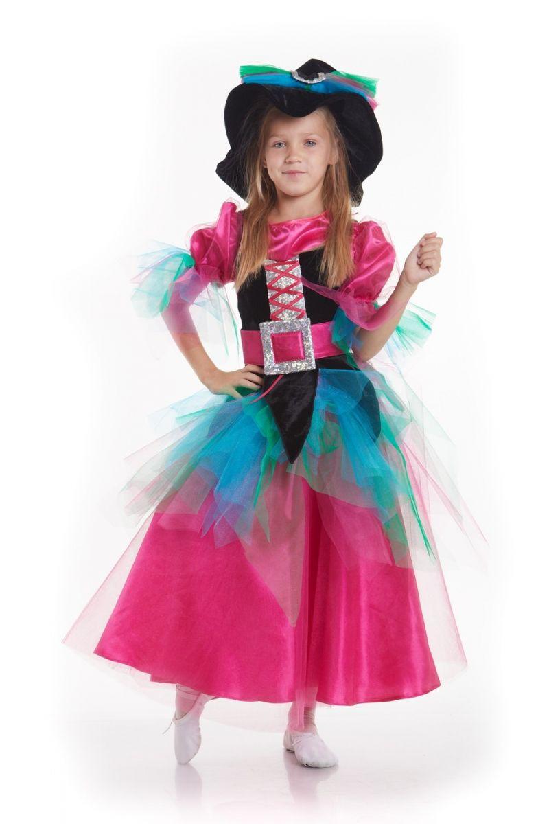 «Ведьма» карнавальный костюм для девочки