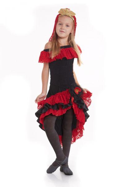 «Испанка» национальный костюм для девочки