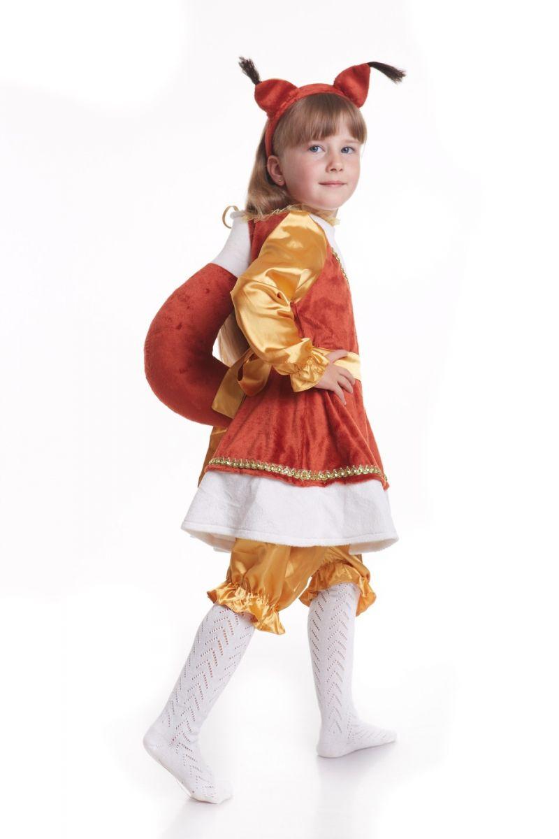 «Белка» карнавальный костюм для девочки