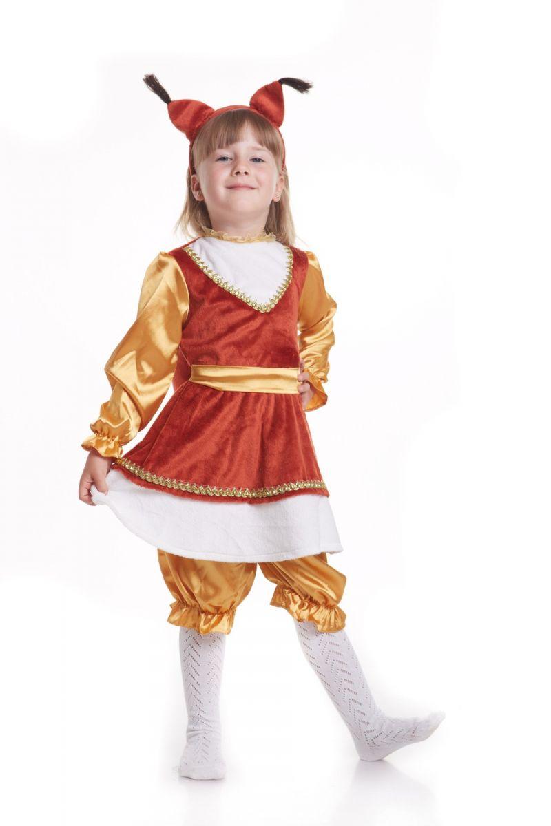 Масочка - «Белка» карнавальный костюм для девочки / фото №816