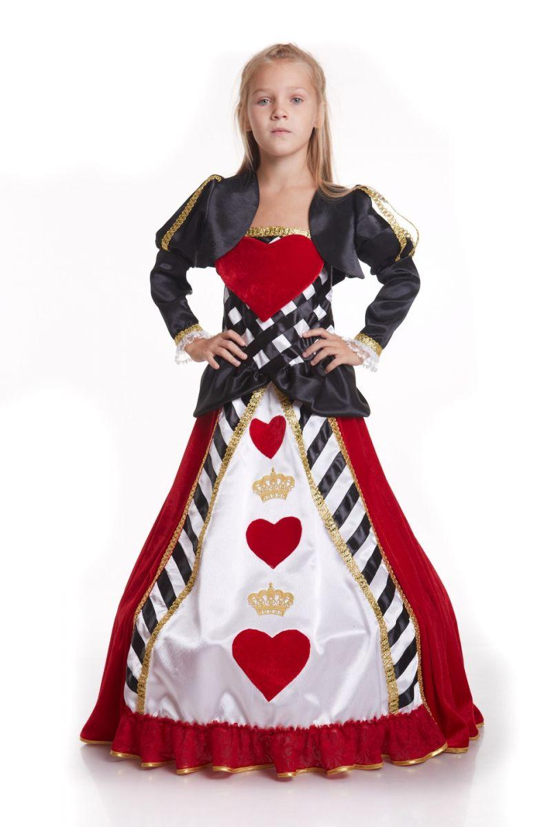 «Карточная королева» карнавальный костюм для девочки