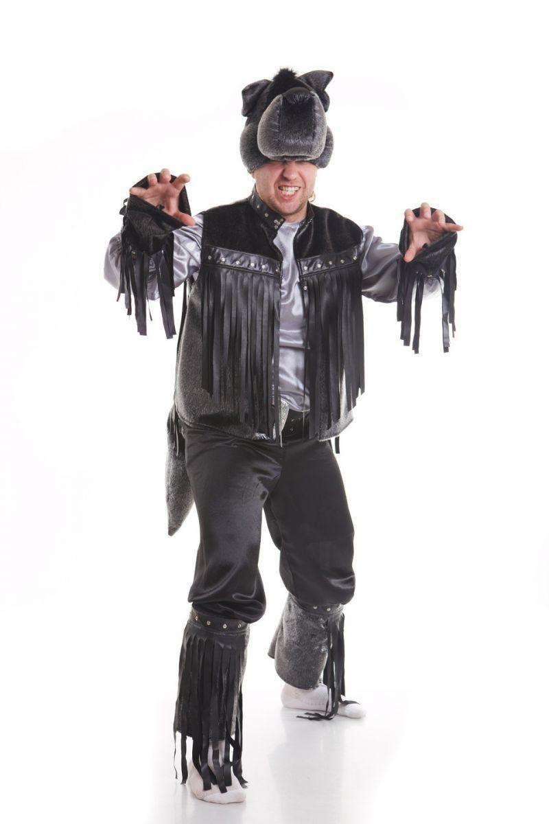 Волк «Рокер» карнавальный костюм для взрослых