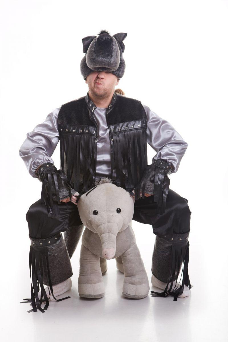Масочка - Волк «Рокер» карнавальный костюм для взрослых / фото №830
