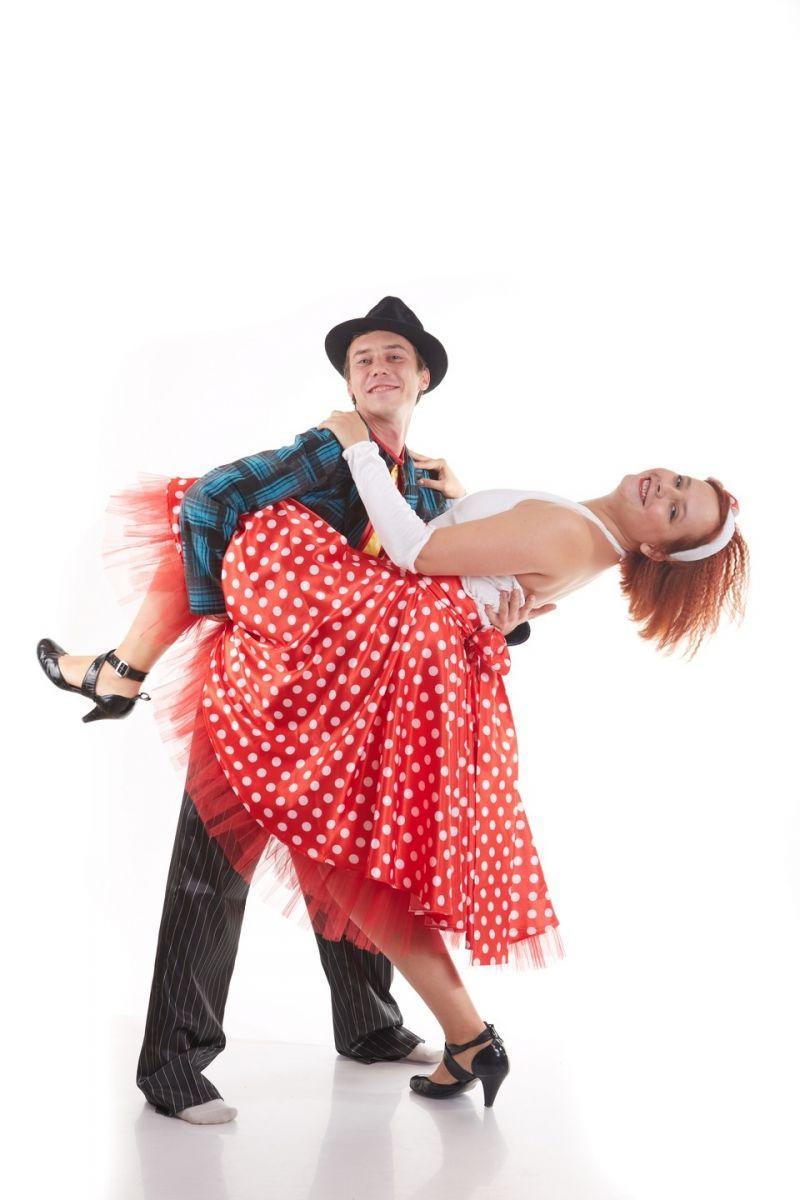 Масочка - «Стиляга в красном» карнавальный костюм для взрослых / фото №832