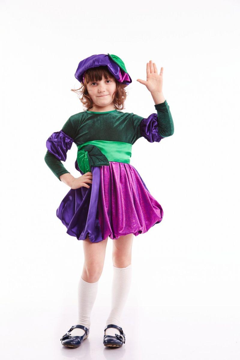 «Слива» карнавальный костюм для девочки