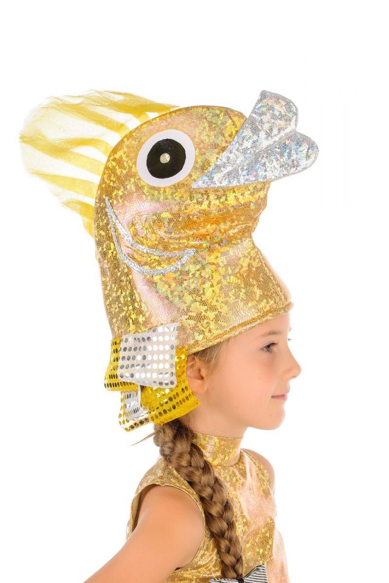 Масочка - «Золотая рыбка» карнавальный костюм для девочки / фото №854