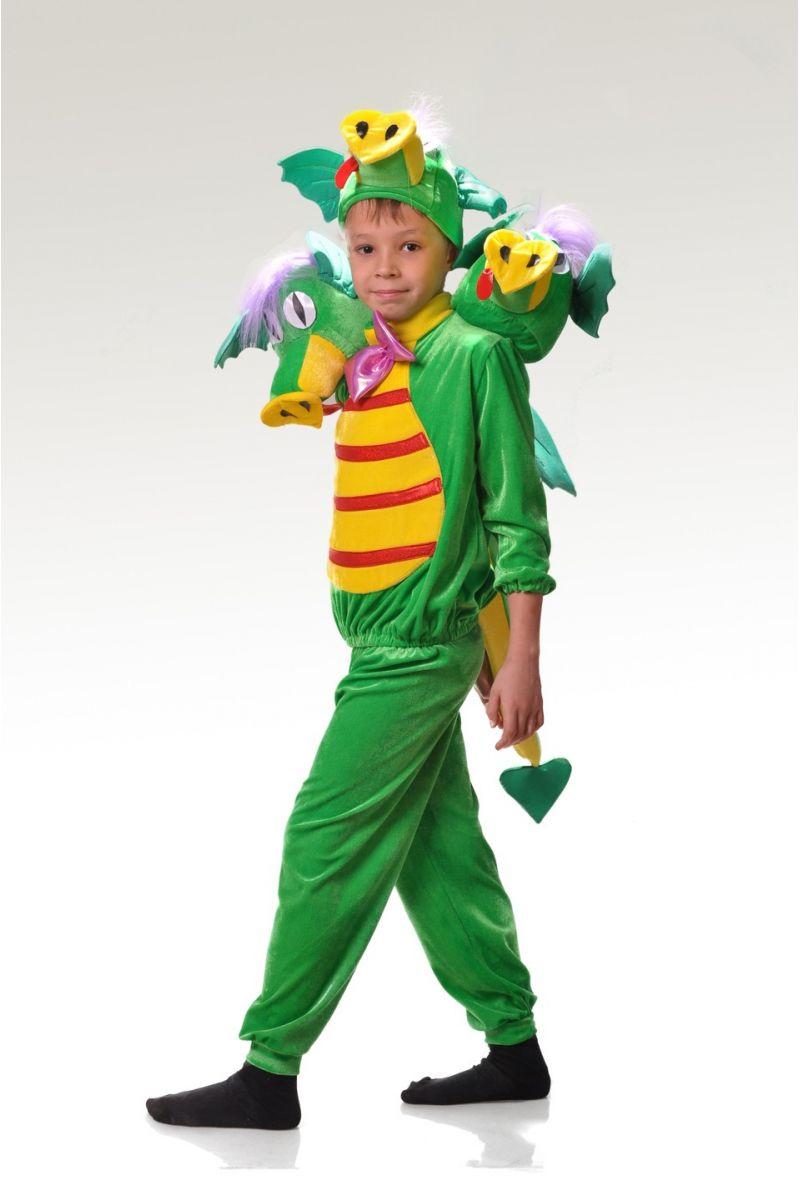 «Змей Горыныч» карнавальный костюм для мальчика