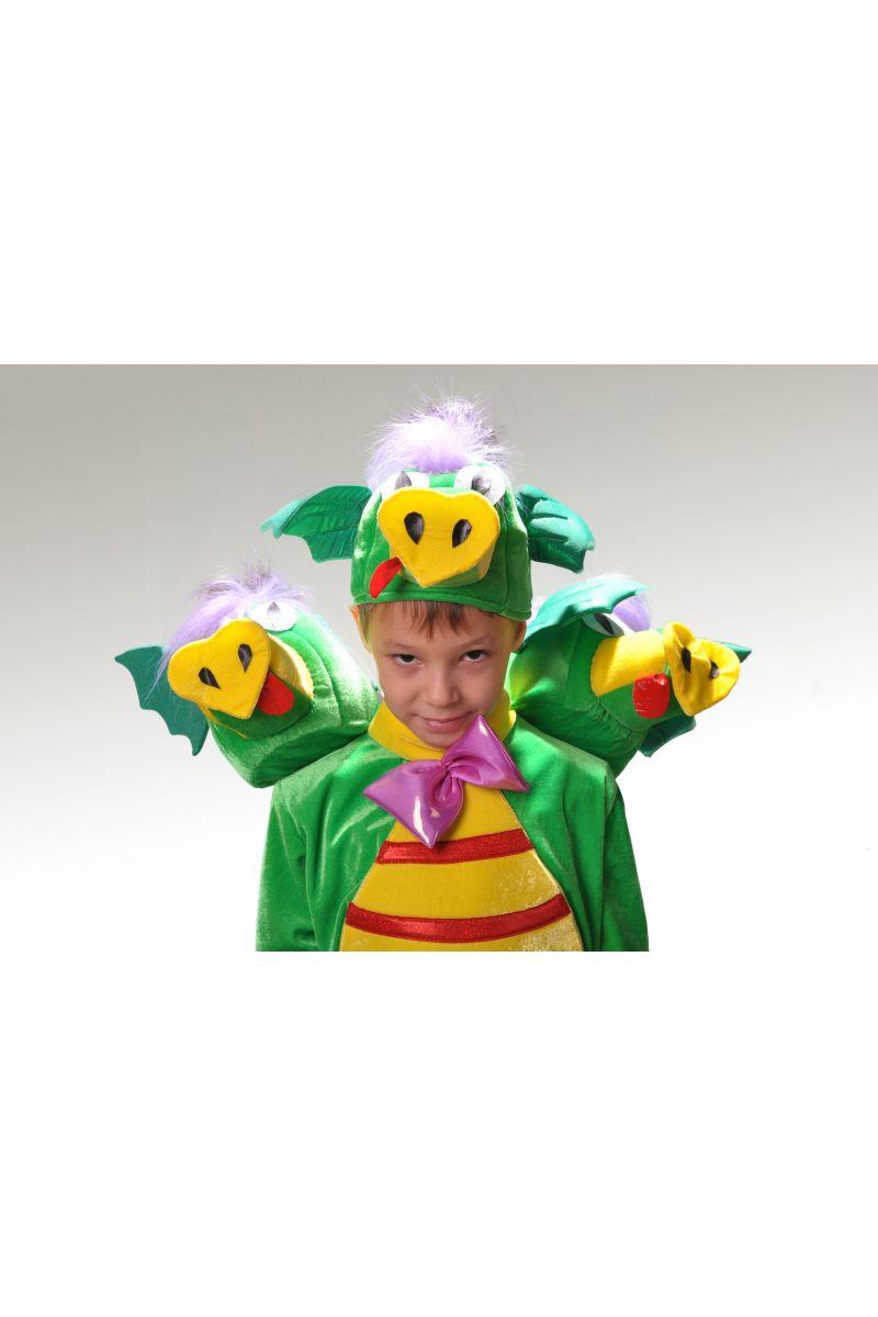 Масочка - «Змей Горыныч» карнавальный костюм для мальчика / фото №858