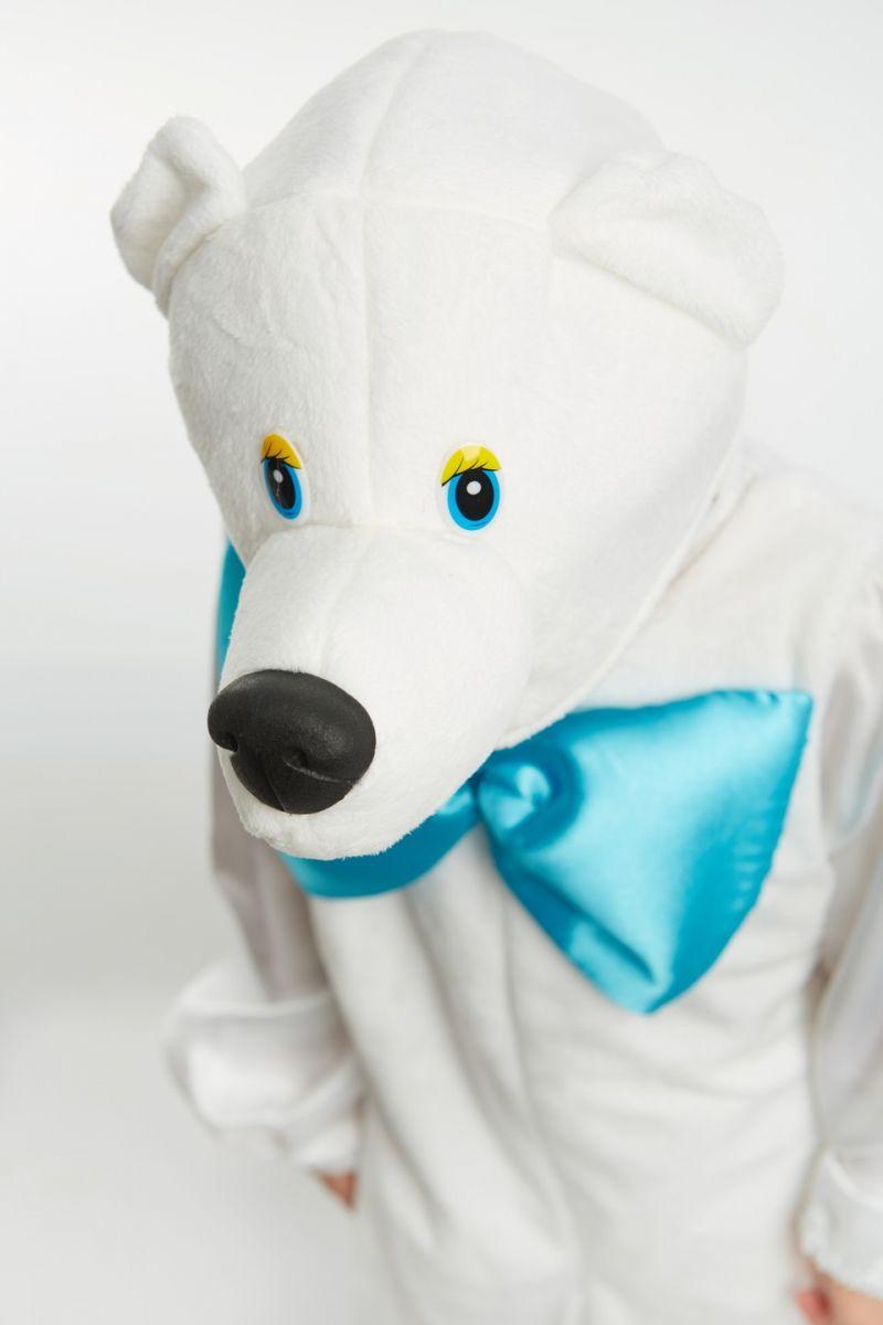 Масочка - «Белый медведь» карнавальный костюм для мальчика / фото №864