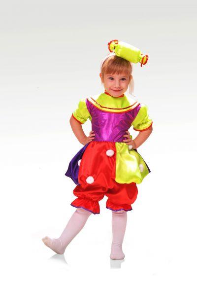 Конфетка «Праздничная» карнавальный костюм для девочки