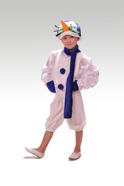 «Снеговик в наушниках» карнавальный костюм для мальчика