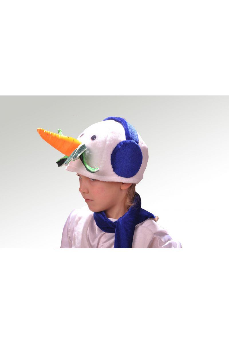 Масочка - «Снеговик в наушниках» карнавальный костюм для мальчика / фото №869