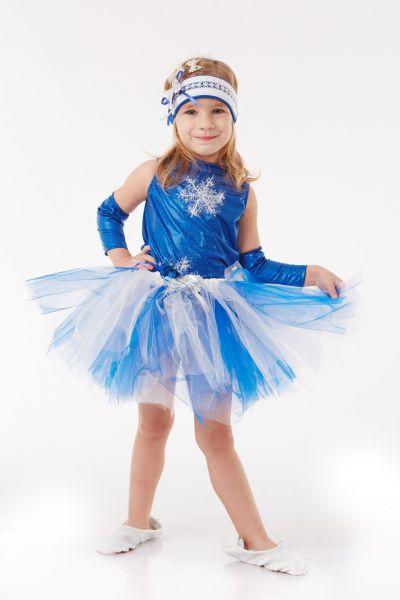«Снежинка в пачке» карнавальный костюм для девочки