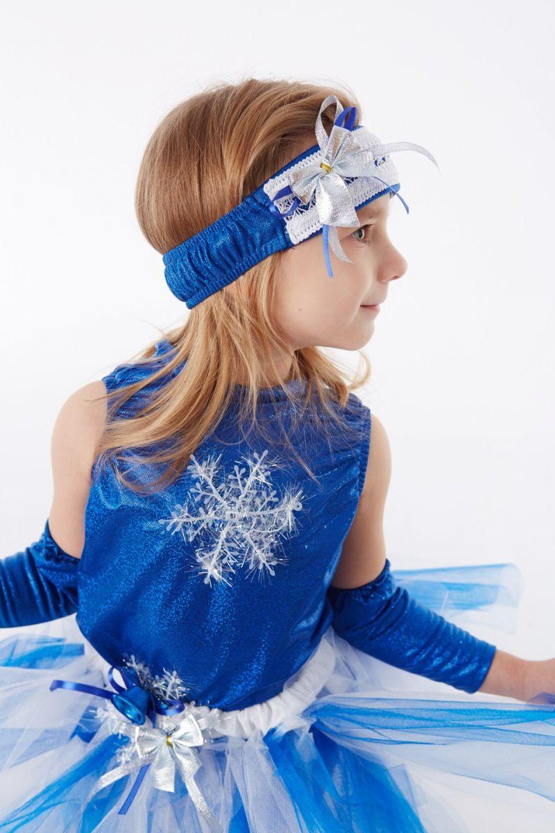 Масочка - «Снежинка в пачке» карнавальный костюм для девочки / фото №879