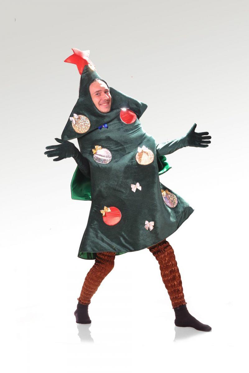 Карнавальный костюм «Ёлка» для взрослых