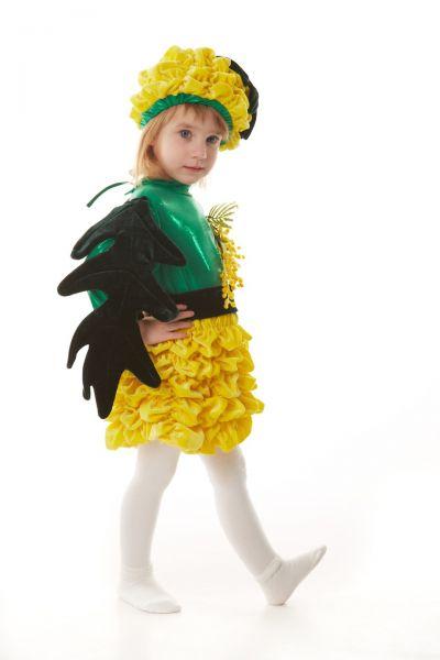 «Мимоза» карнавальный костюм для девочки