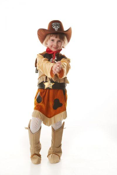 «Ковбойша» карнавальный костюм для девочки