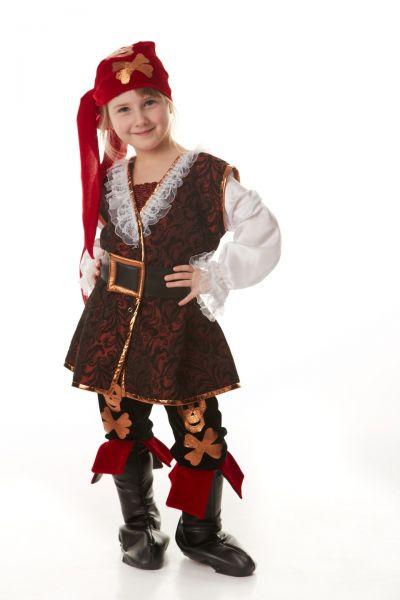 «Разбойница» карнавальный костюм для девочки