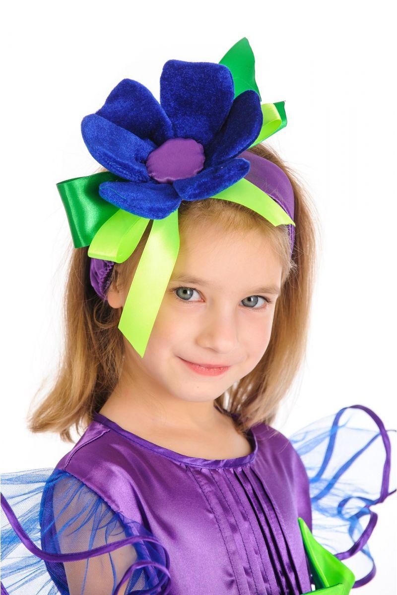 Масочка - «Незабудка» карнавальный костюм для детей / фото №914