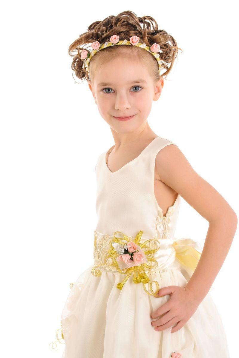 Масочка - «Виктория» нарядное платье для девочки / фото №926