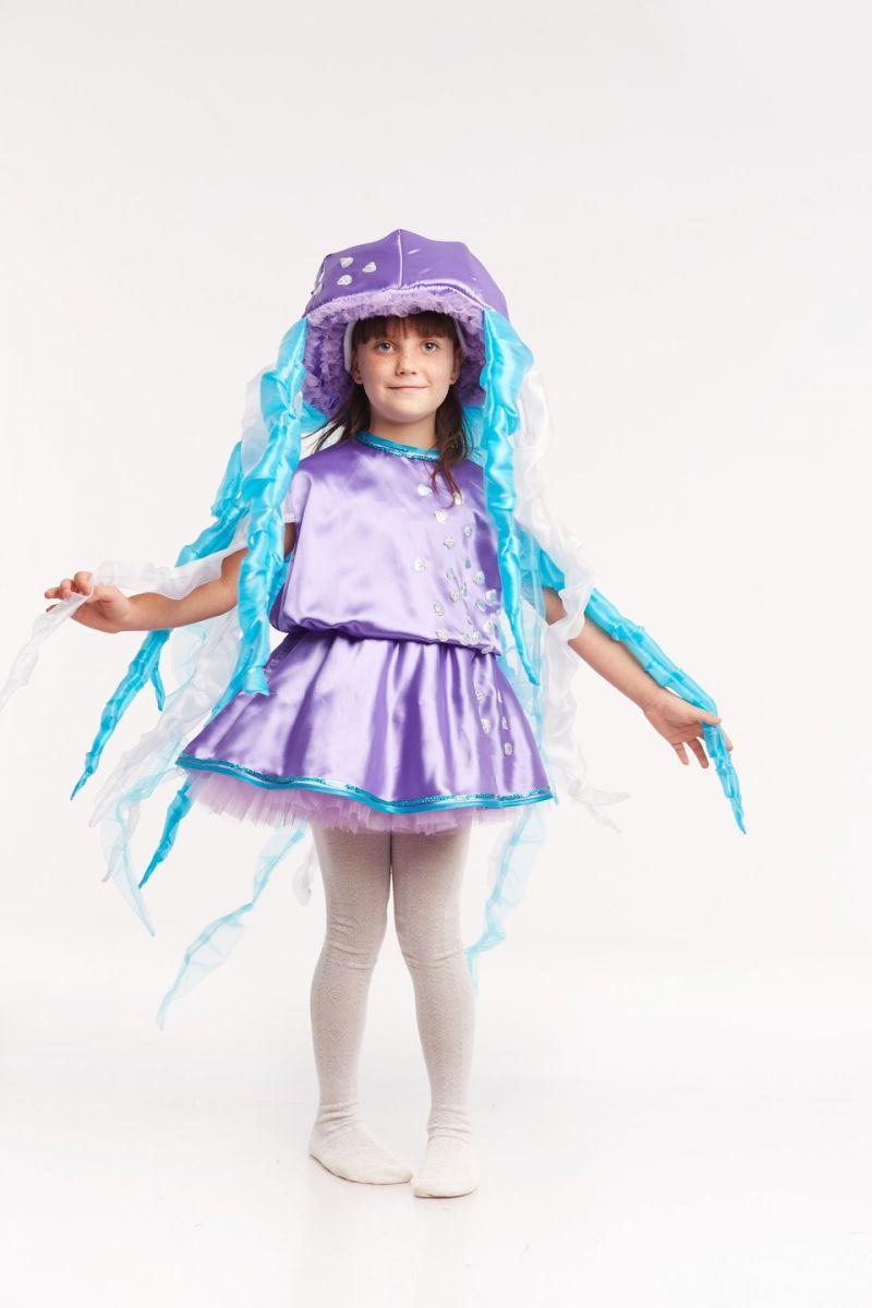 Масочка - «Медуза» карнавальный костюм для девочки / фото №948