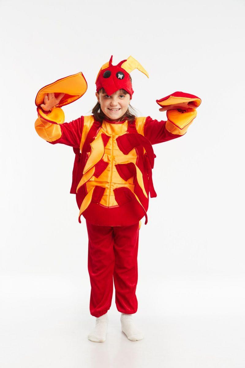 Масочка - «Рак» карнавальный костюм для детей / фото №953