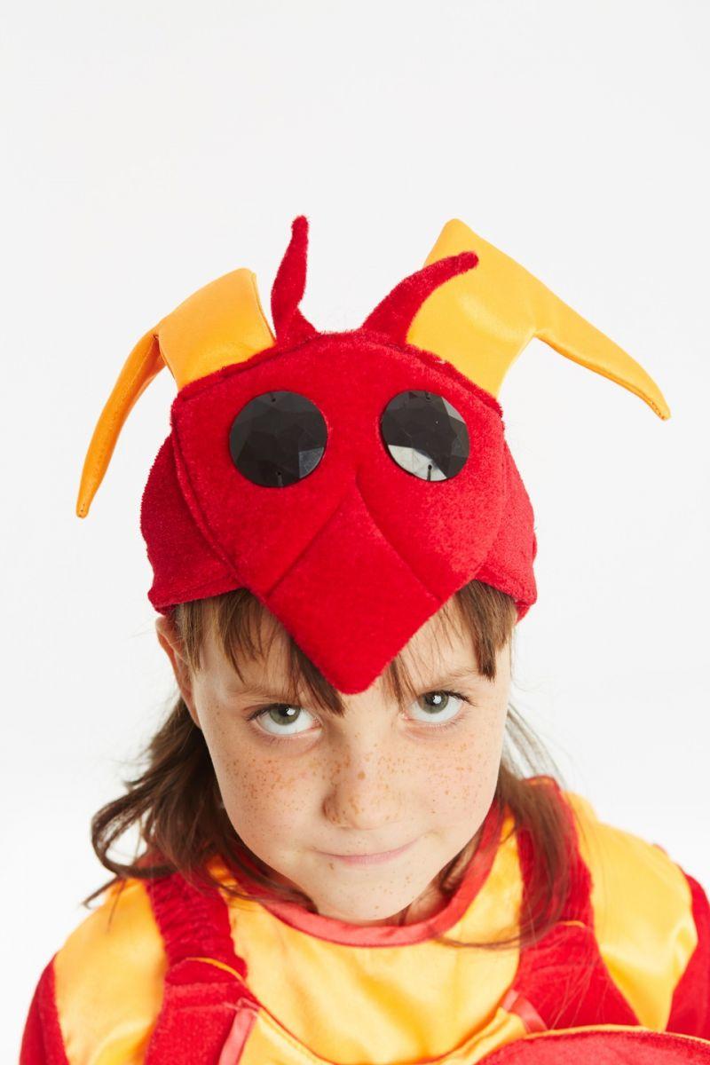 Масочка - «Рак» карнавальный костюм для детей / фото №954