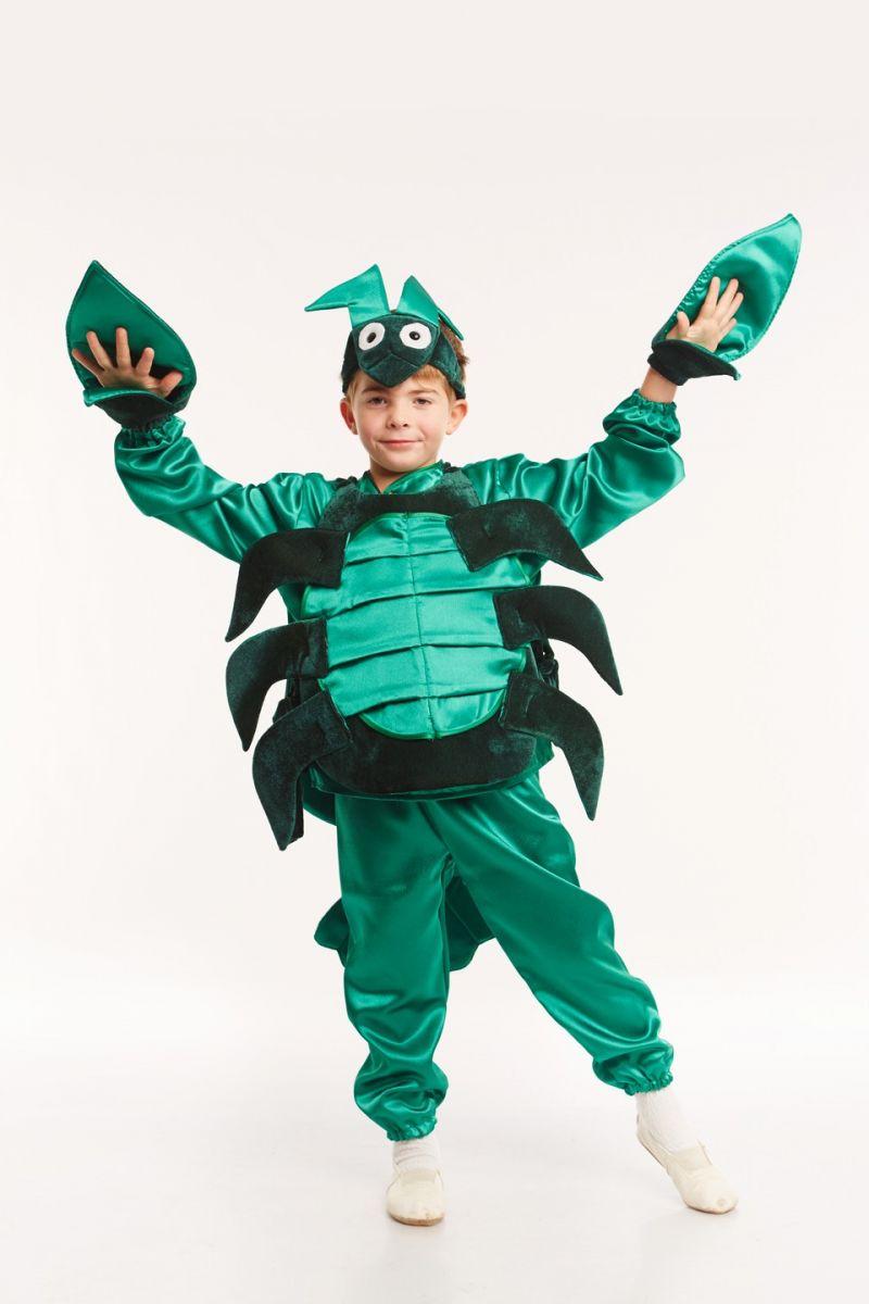 Масочка - «Рак» карнавальный костюм для детей / фото №955