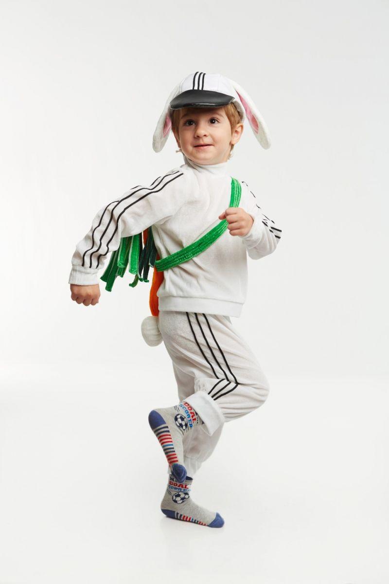 Зая «Спортсмен» карнавальный костюм для малыша