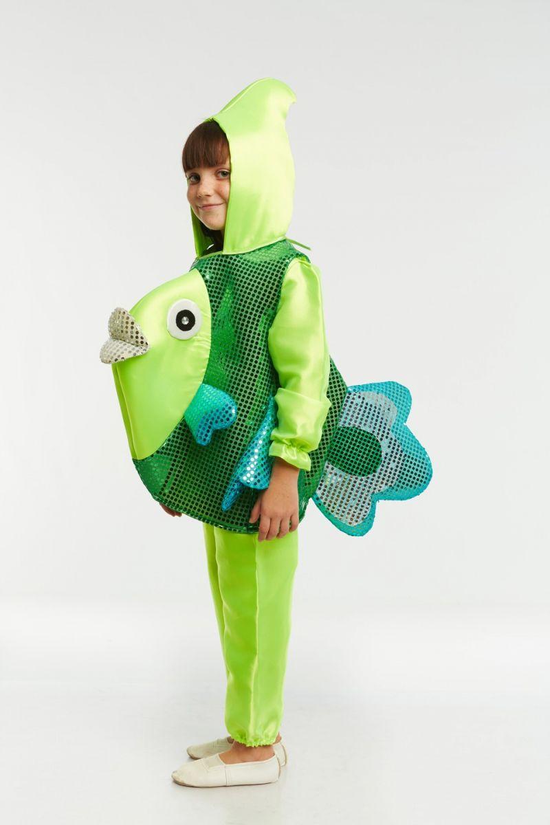 «Рыбка зеленая» карнавальный костюм для детей