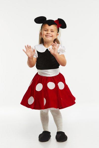 «Минни Маус» карнавальный костюм для девочки