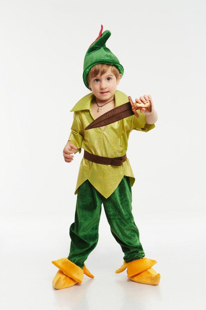 «Питер Пэн» карнавальный костюм для мальчика